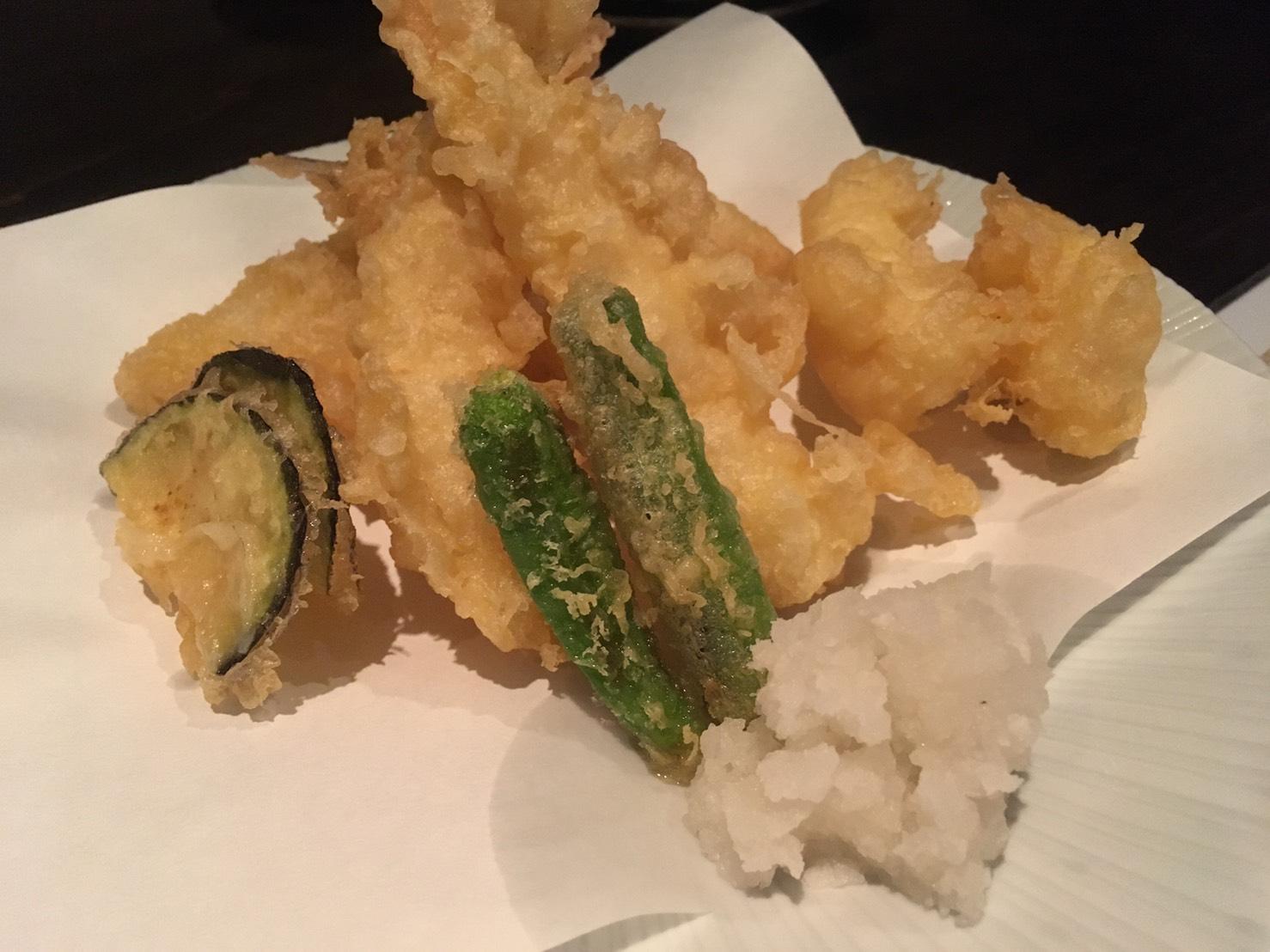 三宮の食べ放題 寿司隆明の天ぷら